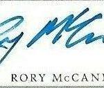 Rory McCann signature
