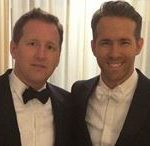 Ryan Reynolds with his brother Terry Reynolds