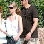 Sara Foster and Benicio del Toro image.