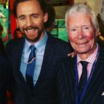 Tom hiddleston with his father James Norman Hiddleston