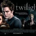 Twilight (2008) movie poster image.