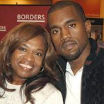 Kanye West with his mother Dr. Donda C.