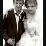 Madonna and Sean Penn Wedding photo