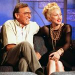 Madonna with her father
