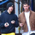 Nick Jonas with his brother Frankie Jonas