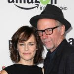 Sarah Clarke with her husband Xander