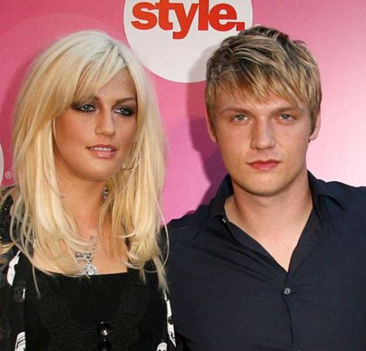 Nick Carter with sister Leslie Carter | Celebrities ...
