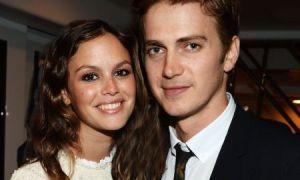 Rachel With her ex-husband Hayden Christensen