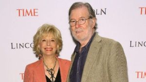 Leslie Stahl With Her Husband Aaron Latham