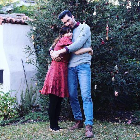 Zooey with her Boyfriend Jonathan Scott