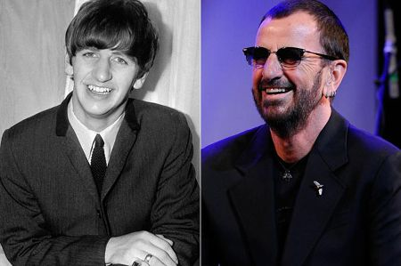 Before and After Snap of Ringo Starr (1)