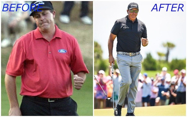 Golf Player Phil Mickelson Loses Weight At 50!!!