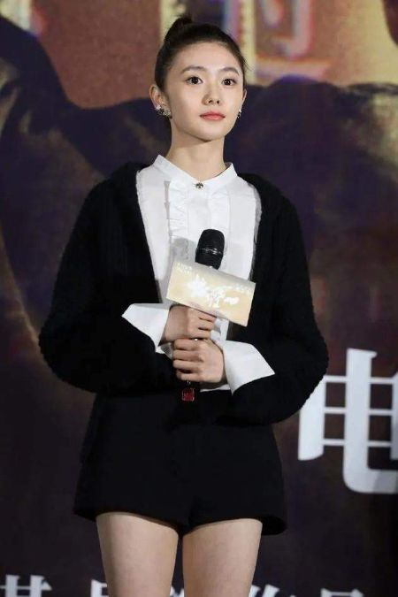 The talented actress, Liu Hao Cun at the event