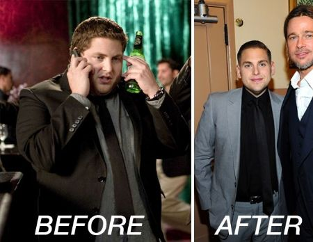 The Snippet of Jonah Hill weight loss Before and After comparison