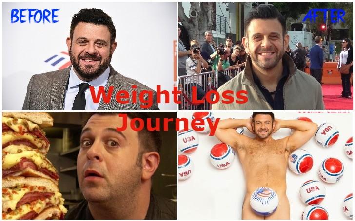Adam Richman 70-pound Weight Loss Transformation!!!
