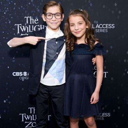 The talented Jacob Tremblay with his little sister Erica Tremblay