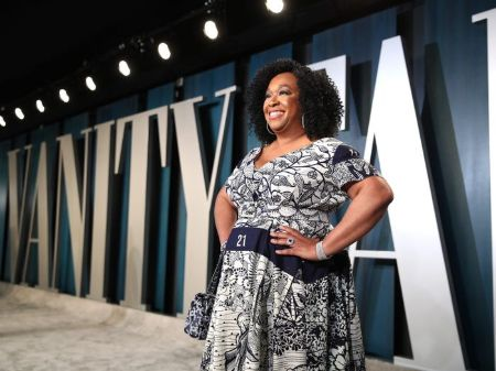 The famous American TV producer, Shonda Rimes before weight loss