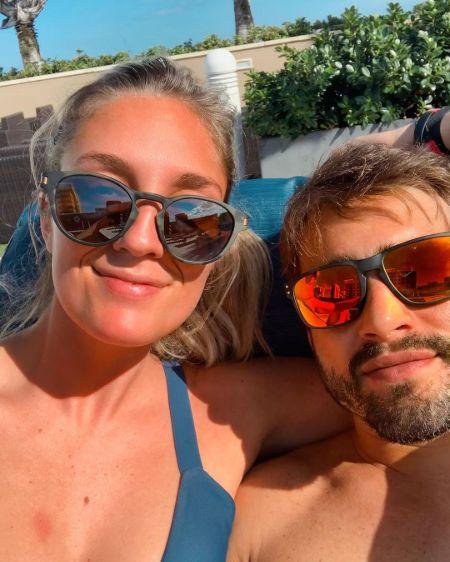 Randy Costa and his girlfriend Sam