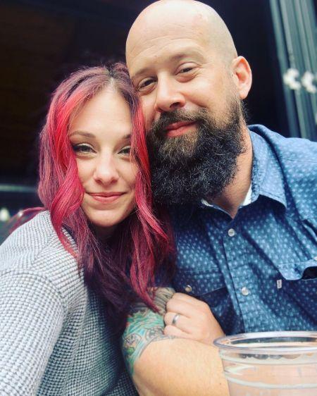 Lisa and her Husband