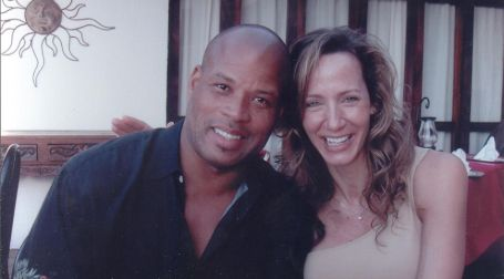 Shaun and his late wife