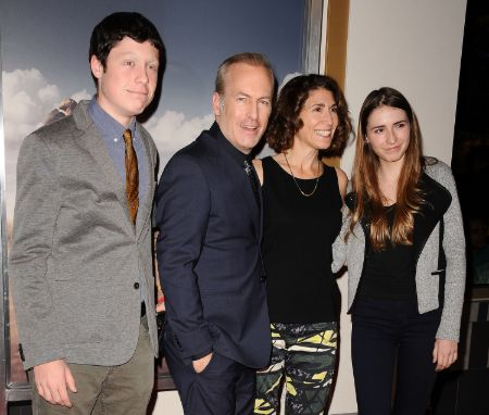 Erin Odenkirk with her family