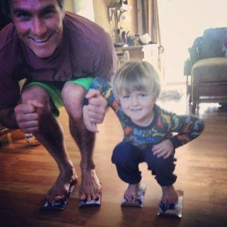 Maciah and his son