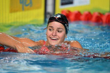 Kaylee Mckeown on world record