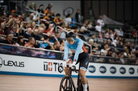 The Snippet of the Canadian track cyclist sensation, Kelsey