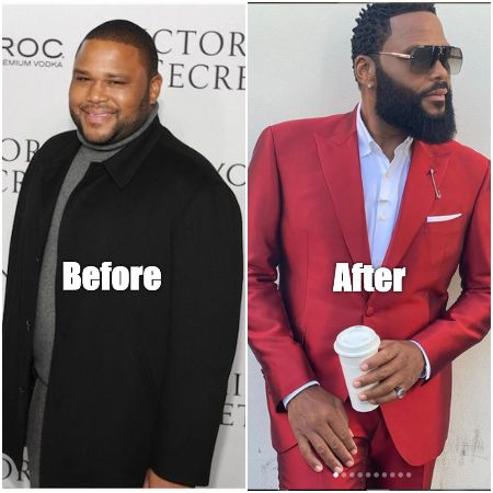 Before & After Snippet of the 'Black-ish' star, Anthony Anderson