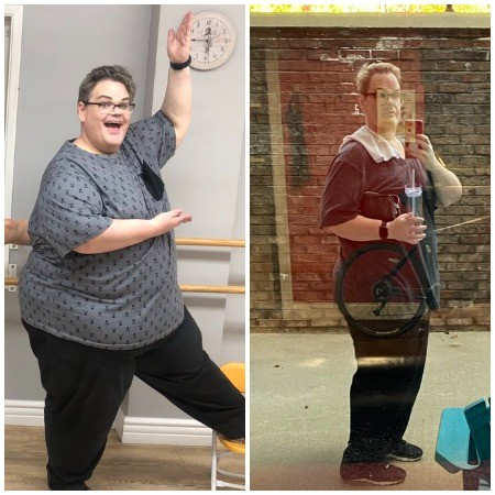 Darienne Lake Weight Loss Before and After (1)