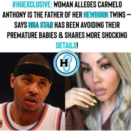Carmelo Anthony Twin Baby mother