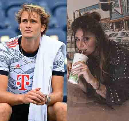 Olga Sharypova and Boyfriend