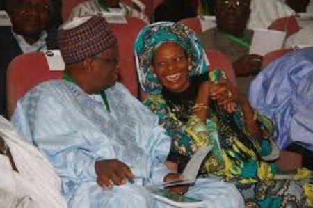 Dora Akunyili's with her husband