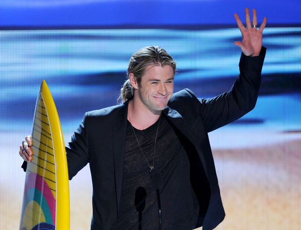 Chris Hemsworth at the 2012 Teen Choice Awards Photo by:  Kevin Winter/Getty Images North America