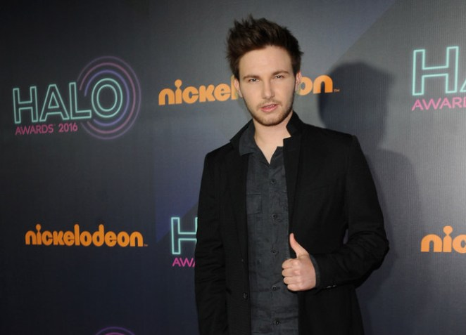 AJ attends the 2016 Nickelodeon HALO awards at Basketball City Pier 36 - South Street on November 11, 2016 in New York City. (Source: Brad Barket/Getty Images North America)