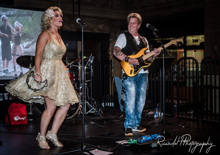 The Swansons, Alternative Country Rock-Pop Band Husband-Wife Duo Joe and Angie Finley, headlined the event.