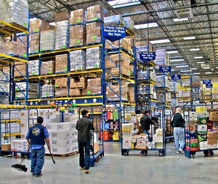 Restaurant Depot is a members-only wholesale food service supplier.