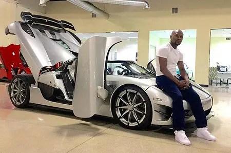 Floyd Mayweather on his biggest car purchase in Koenigsegg CCXR Trevita.