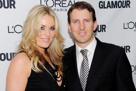 Lindsey Vonn with husband Thomas Vonn