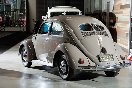 The 1950 VW Beetle Huffman Edition in Gabriel Iglesias' car collection.