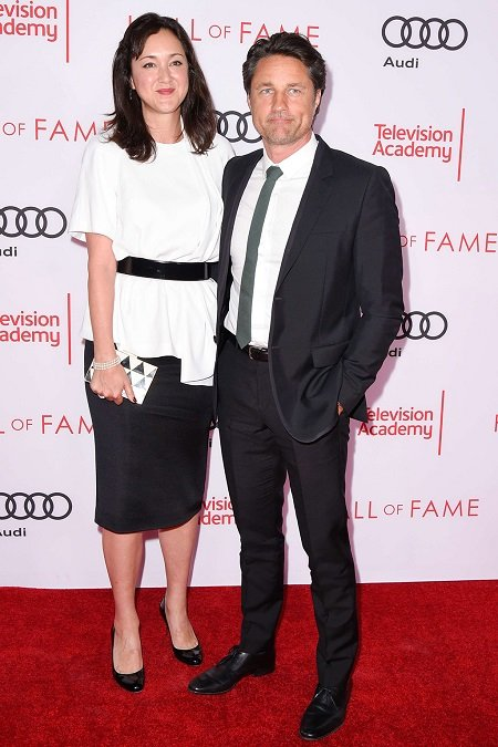 Martin Henderson with his current girlfriend and possible future wife, Helen Randag.