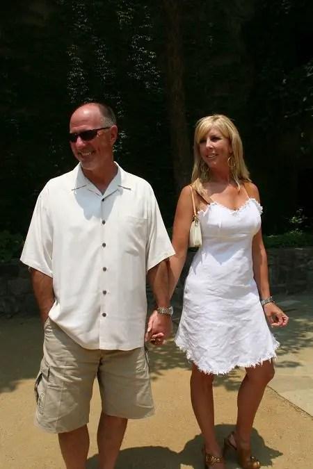 Vicki Gunvalson and her ex-husband Donn Gunvalson.