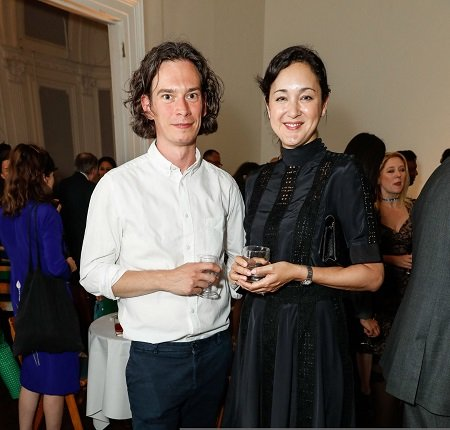 Steven Cairns and Helen Thorpe attend The Institute of Contemporary Arts, London celebrates the launch of it's newly founded ICA Independent Film Council, at the ICA on June 18, 2018 in London, England.