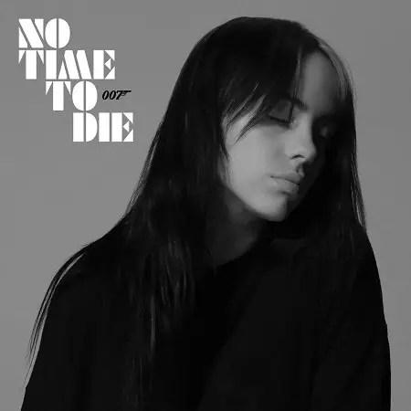 Artwork for Billie Eilish's 'No Time To Die'.