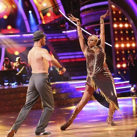 Nene Leakes and Tony Dovolani on 'Dancing with the Stars'.