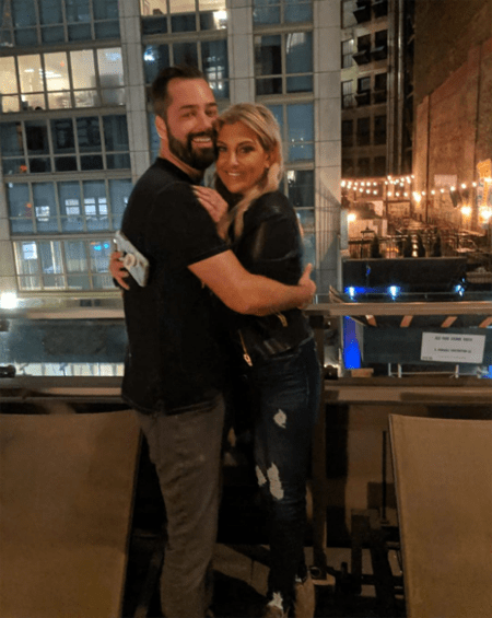 Gina Kirschenheiter was seen kising her ex-boyfriend and there is no telling how her relationship with her new boyfriend will go.