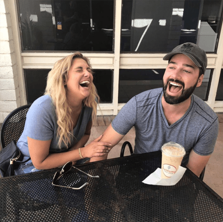 Gina Kirschenheiter's new boyfriend making his first appearance in her Instagram.