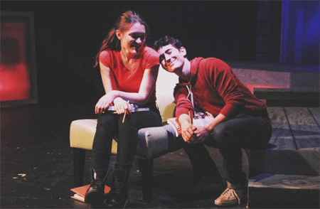 Blaine Miller and Isa Briones appeared together in Next to Normal theater play.
