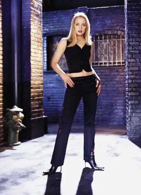 Rachel Skarsten as Dinah Lance in the 2002 series 'Birds of Prey.'