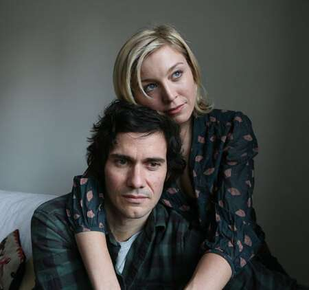Husband and wife couple Christian Camargo and Juliet Rylance are not fond of taking their work home.